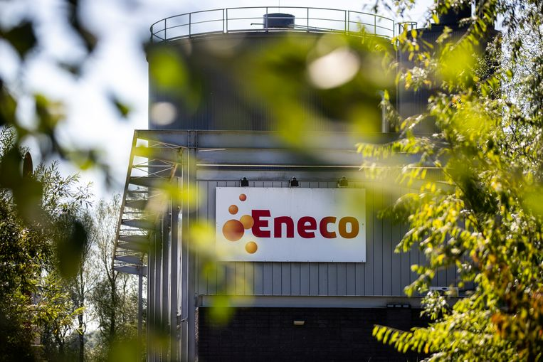Warmtekrachtcentale van ENECO in Den Haag. Beeld Hollandse Hoogte / Laurens van Putten