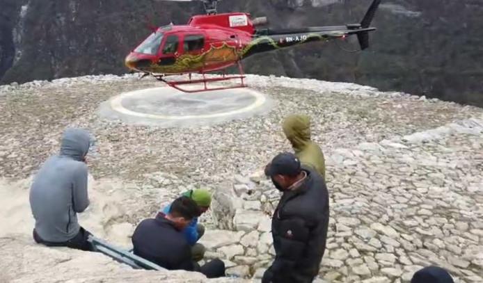 Jonathan Borlée a été évacué en hélicoptère