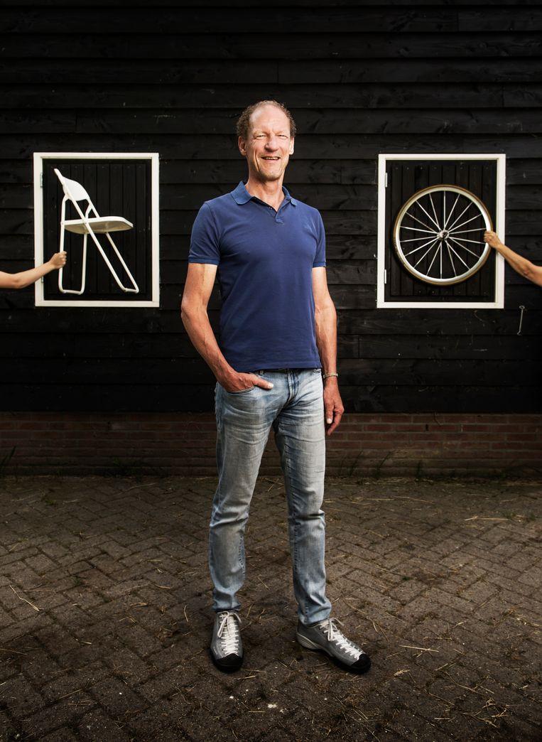 Maarten Ducrot op de Klapstoel Beeld Harmen De Jong