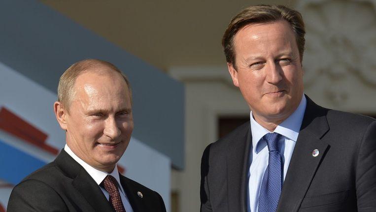Cameron heeft gevraagd om 'snelle, billijke en proportionele maatregelen van het Russische rechtssysteem' in de zaak. Beeld afp