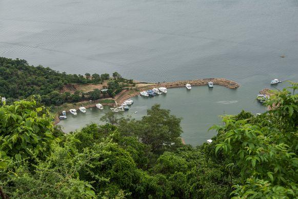Het Karibameer is het voorbije jaar met 7,5 meter gedaald, en is nog maar voor 16 procent gevuld.