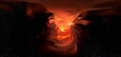 Zo ziet het 'afvoerputje van de Melkweg' eruit