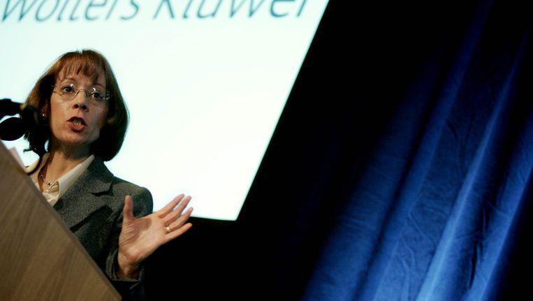 Topvrouw Nancy McKinstry van WoltersKluwer verdiende een salaris van vijf miljoen euro Beeld ANP