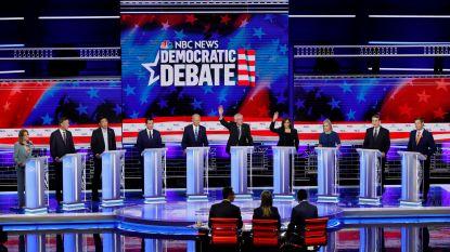 Recordaantal kijkers voor debat Democratische presidentskandidaten
