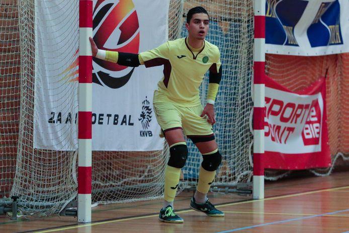 Youssef Ben Sellam keepte maandag voor het eerst bij Oranje.