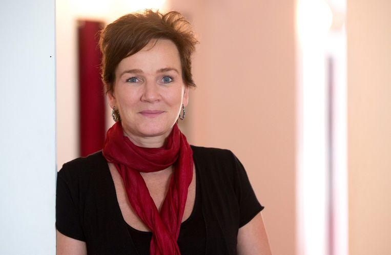 Karin Beier: 'Ik heb iedereen ontslagen.' Beeld EPA