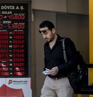 De Turkse economie laaft zich aan een giftige cocktail