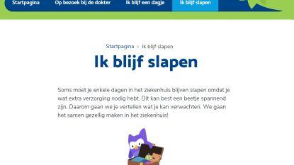 """Mariaziekenhuis lanceert speciale website in kindertaal: """"De dokter wil ook je knuffel onderzoeken"""""""