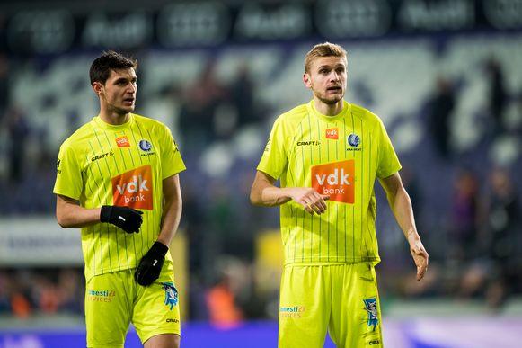 Yaremchuk en Plastun van AA Gent