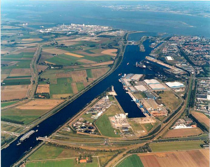 Luchtfoto Zeeland Seaports
