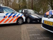 Politie eindigt achtervolging in Nijmegen door auto te rammen