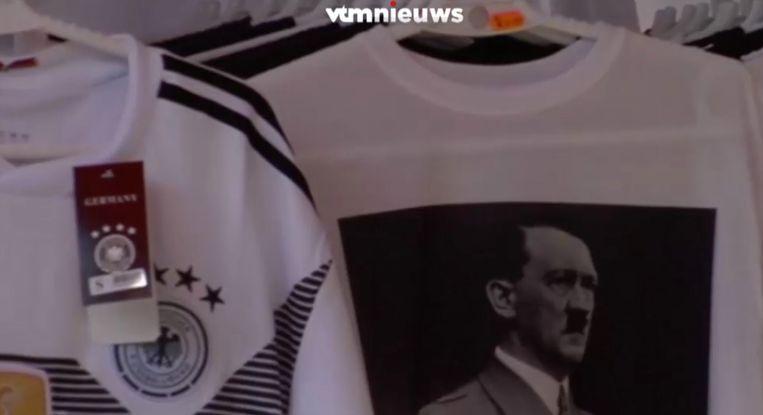 Ook de stad is tegen de verkoop van de t-shirts.