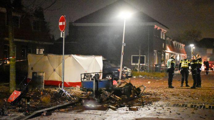 Bij de ontploffing in de Gerststraat kwam Enschedeër Henk Kempers om het leven.
