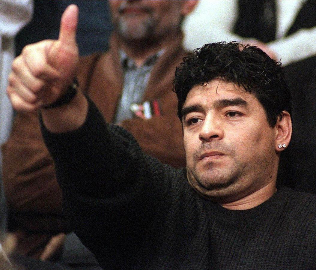 Diego Maradona in 1999