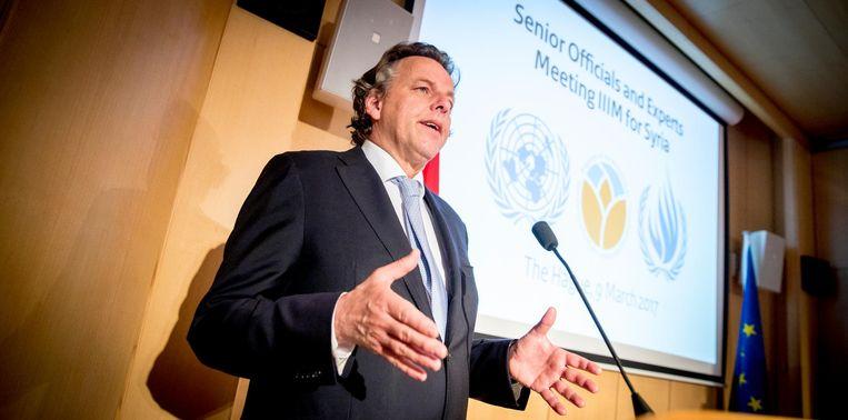 Demissionair Minister van Buitenlandse Zaken Bert Koenders. Beeld ANP