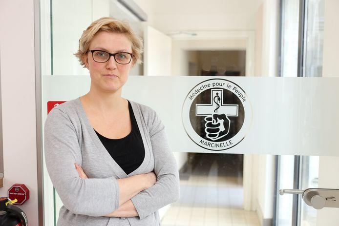 Sofie Merckx est conseillère communale à Charleroi (PTB) et médecin à Médecine pour le Peuple Marcinelle (Charleroi)