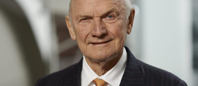 Ferdinand Piëch, de voormalige topman van de Volkswagen Groep