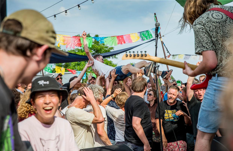 Loose Ends festival op NDSM.