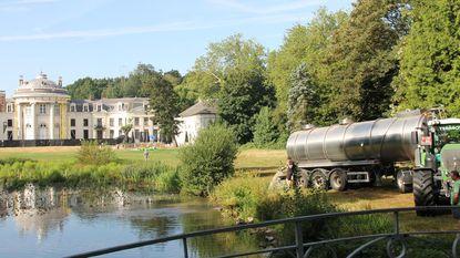 350.000 liter in vijver Blauwhuispark gepompt