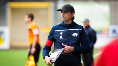 """Trainer Jo Claes (KVK Tienen): """"Zullen de resterende wedstrijden nog afgewerkt worden?"""""""