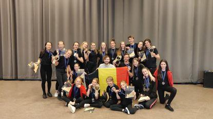 Dansschool D.I.O.P. Lokeren behaalt 6 podiumplaatsen op Europees Kampioenschap
