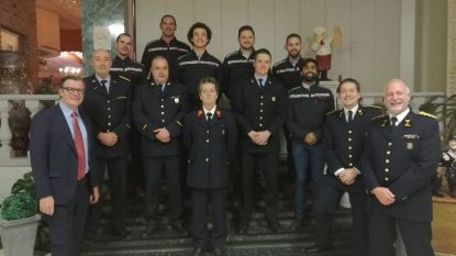 Brandweertpost Geraardsbergen viert feest van Sint-Barbara