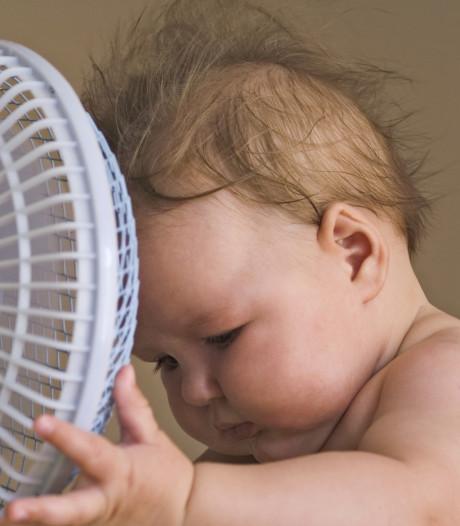 5 tips om je baby koel te houden in deze hitte