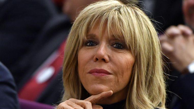 Brigitte Trogneux, de vrouw van Emmanuel Macron. Beeld afp