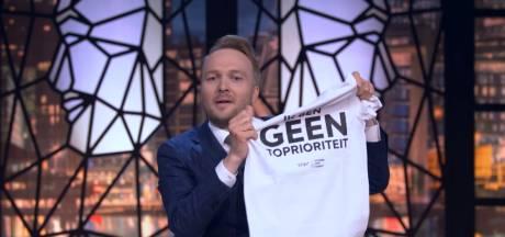 'Toprioriteit-T-shirt' Arjen Lubach niet aan te slepen: hele schoolklassen vragen er om