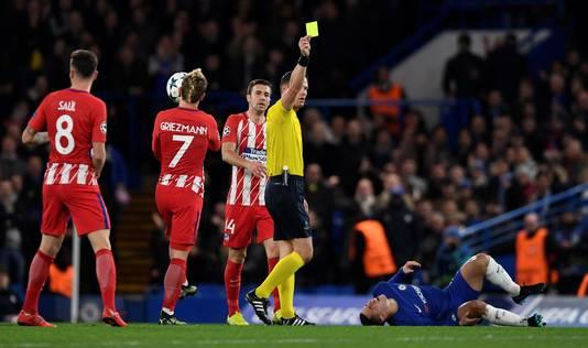 Chelsea vs Atletico Madrid met als scheidsrechter Danny Makkelie