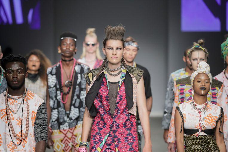Laat je tijdens Fashion Cities Africa inspireren door Afrikaanse prints. Beeld Sophia Bentoh
