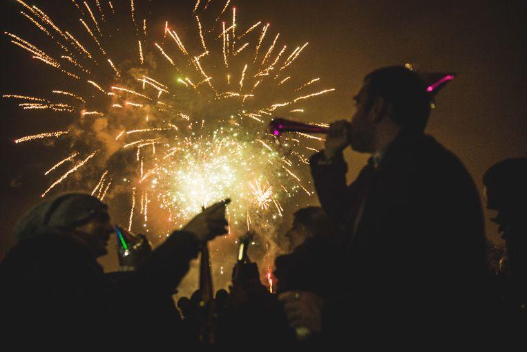 Gent, nieuwjaar, vuurwerk,