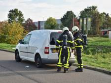Drie verdachten aangehouden met bestelauto mogelijk vol drugsafval in Tilburg