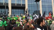 Vakbonden non-profitsector betogen aan kabinet De Block