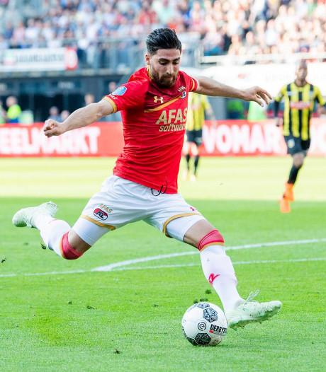 Willem II-spits Fran Sol gepasseerd op topscoordersranglijst