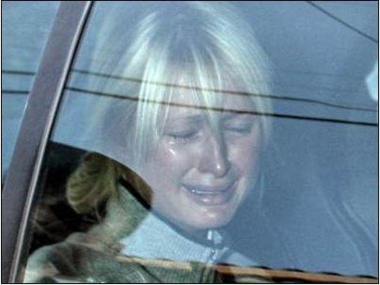 Paris Hilton op weg naar de gevangenis, 2007 Beeld Sunshine