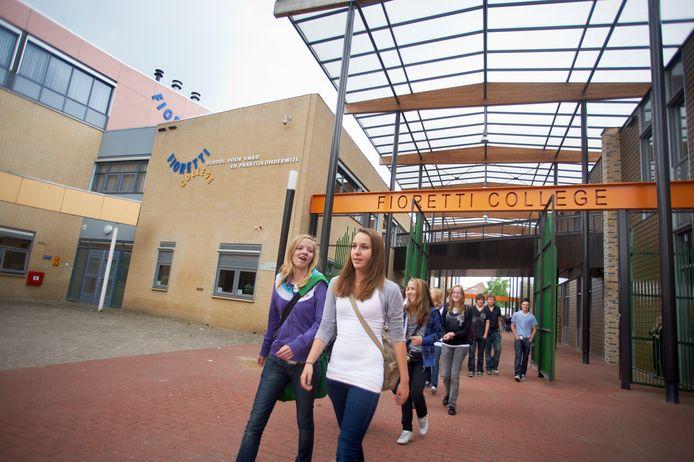 Het Fioretti College in Veghel, toen de school nog open was