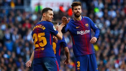 FT buitenland: FIFA voert antidopingcontrole uit bij Barça, ook Vermaelen moet plasje afleveren - PSG denkt aan Conte als opvolger voor Emery