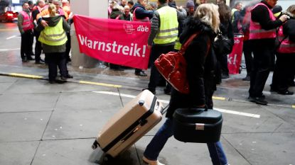 Vakbond roept veiligheidspersoneel op drie Duitse luchthavens op om te staken