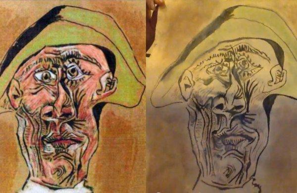 Theatermakers: gevonden 'Picasso' was publiciteitsstunt voor voorstelling