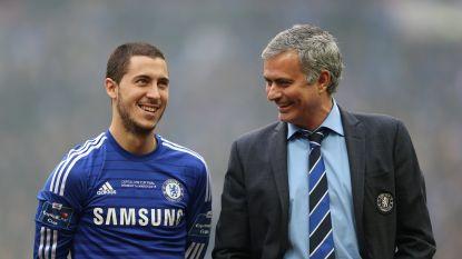 """Mourinho en de Belgen, dat matcht. Zijn eerste ontmoeting met Vertonghen was hilarisch: """"De jongen stond in zijn blootje"""""""