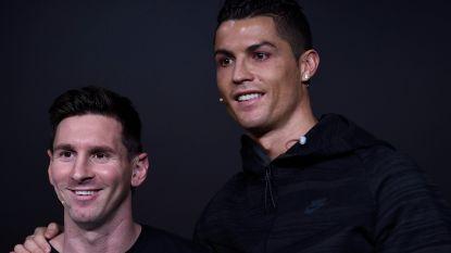 """Ronaldo hint op een etentje met Messi: """"Leo maakt van mij een betere speler en vice versa"""""""