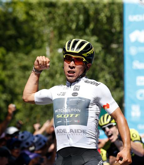 Ewan pakt leiderstrui na zege in tweede etappe Tour Down Under