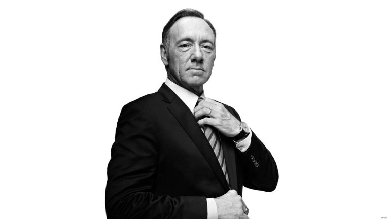 Frank Underwood, House of Cards. Beeld HBO