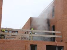 Brand in woning in aanbouw Rotterdam Vreewijk