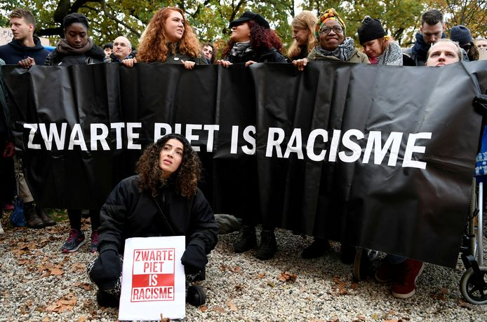Tegenstanders van Zwarte Piet