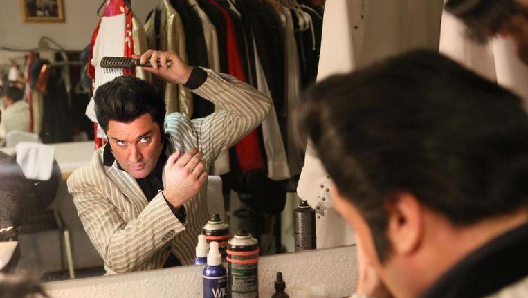 Grahame Patrick kruipt al jaren in de huid van Elvis Presley Beeld ANP