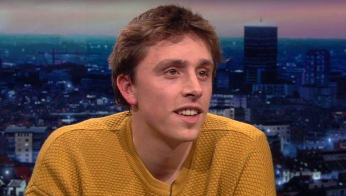 Capture d'écran: Arno Kempynck dans l'émission De Afspraak