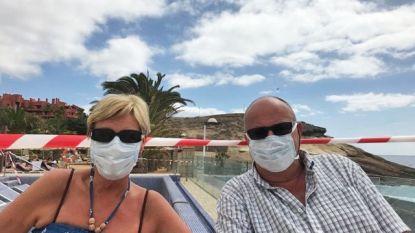 """Koppel uit Affligem zit nog tot 10 maart vast in corona-hotel in Tenerife: """"Gelukkig mogen we onze kamer verlaten"""""""