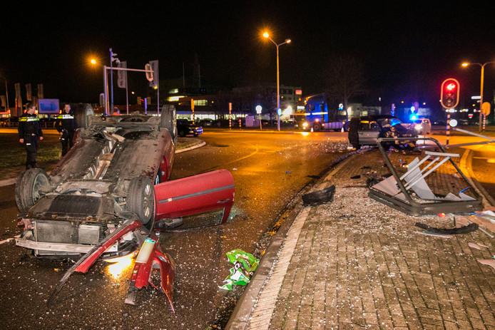 Twee gewonden gevallen bij een ernstig ongeluk in Nijmegen